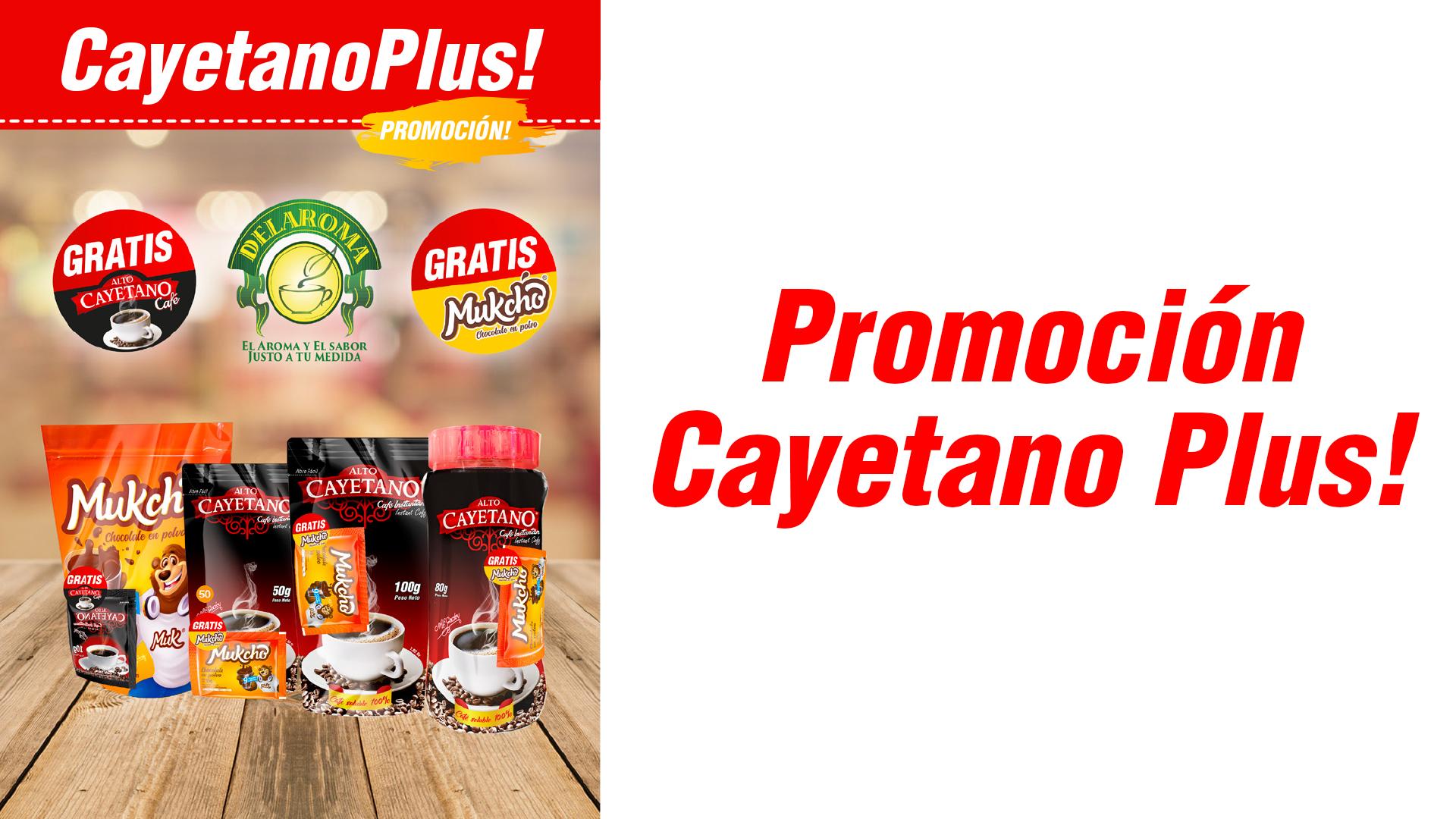 Promoción Café y Chocolate